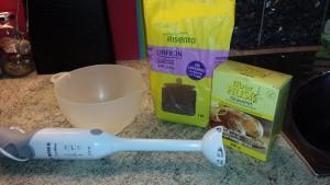 Ingredienser till linfröbröd