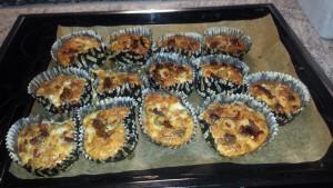 Glutenfria pizzamuffins