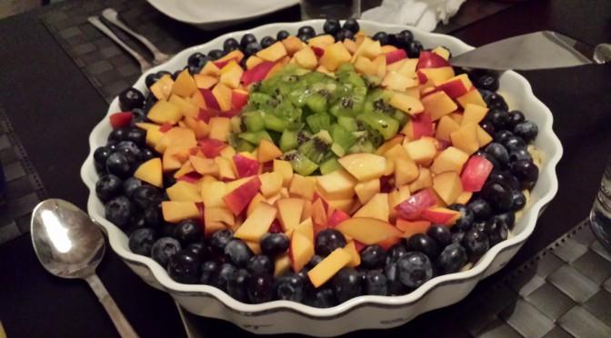 Frukt- och bärpaj