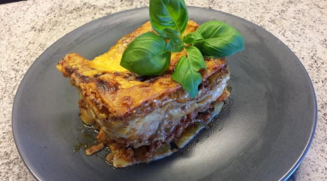 Katten Gustaf lasagne