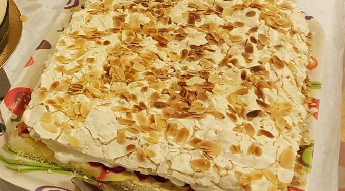 Glutenfri marängtårta